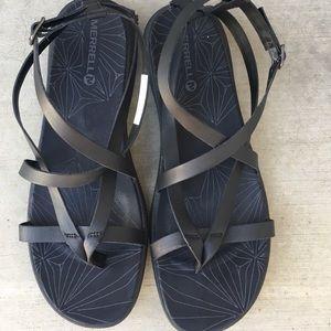 Merrell - Duskair Seeway Sandal, size 11
